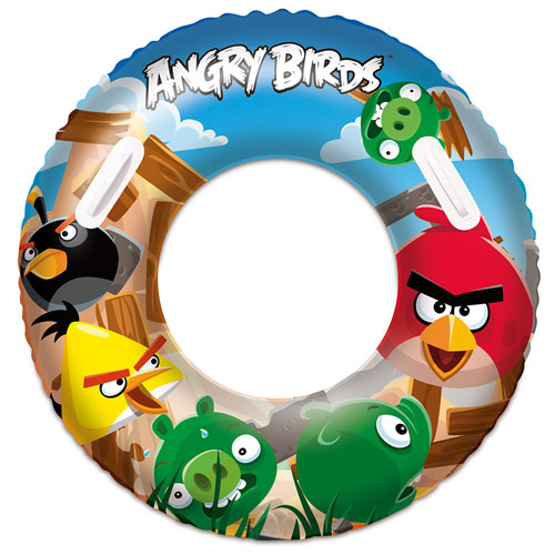 Nafukovací kruh - Angry Birds